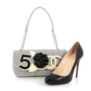 Chanel No 5 &'Camellia Canvas Flap Bag